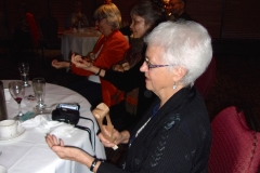 Banquet – Marilyn Conroy Playing Spoons